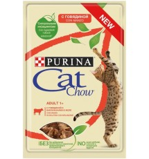 Purina Cat Chow Wołowina i...
