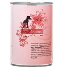 Dogz Finefood N.02 Wołowina...