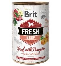 Brit Fresh Dog Beef with...