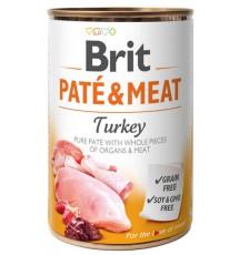 Brit Pate & Meat Dog Turkey...