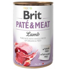 Brit Pate & Meat Dog Lamb...
