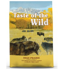 Taste of the Wild High Prairie Canine z mięsem z bizona 12,2kg