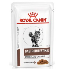 Royal Canin Veterinary Diet Feline Gastro Intestinal Moderate Calorie saszetka 85g