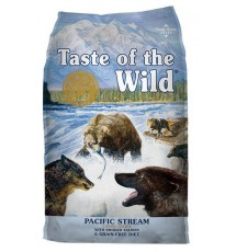 Taste of the Wild Pacific Stream Canine z mięsem z łososia 5,6kg