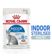 Royal Canin Indoor Sterilised Loaf karma mokra dla kotów dorosłych sterylizowanych, przebywających w domu saszetka 85g