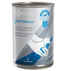 Trovet Unique Protein UPL Jagnięcina dla psa i kota puszka 400g