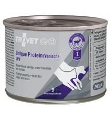 Trovet Unique Protein UPV Dziczyzna dla psa i kota puszka 200g