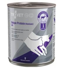 Trovet Unique Protein UPV Dziczyzna dla psa i kota puszka 800g