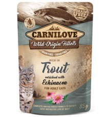 Carnilove Cat Trout & Echinacea - pstrąg i Echinacea saszetka 85g