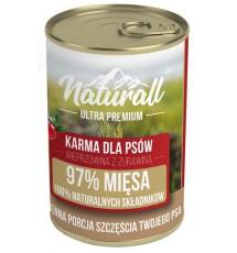 Naturall Ultra Premium Wieprzowina z żurawiną puszka 850g