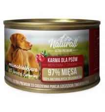Naturall Ultra Premium Wieprzowina z żurawiną puszka 410g