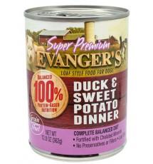 Evanger's Super Premium For Dogs Kaczka i słodkie ziemniaki puszka 362g
