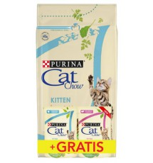 Purina Cat Chow Kitten z Kurczakiem 1,5kg + saszetki 2x85g gratis
