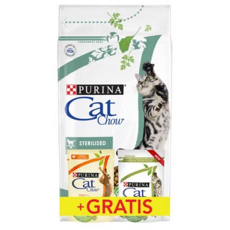Purina Cat Chow Special Care Sterilized 1,5kg + saszetki 2x85g gratis