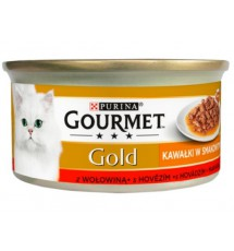 Gourmet Gold Sauce Delight Wołowina 85g