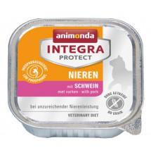 Animonda Integra Protect Nieren dla kota - z wieprzowiną tacka 100g