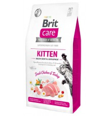 Brit Care Cat Grain Free Kitten Healthy Growth & Development 400g