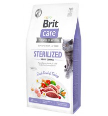 Brit Care Cat Grain Free Sterilized Weight Control 2kg
