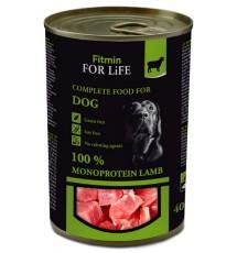 Fitmin Dog For Life Lamb puszka 400g
