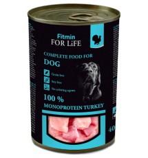 Fitmin Dog For Life Turkey puszka 400g
