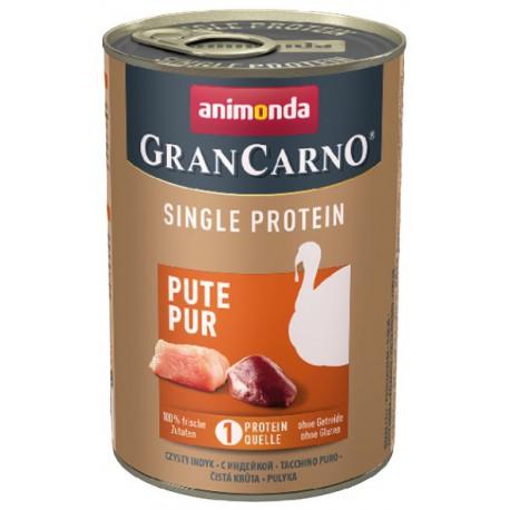 Animonda GranCarno Single Protein Indyk puszka 400g