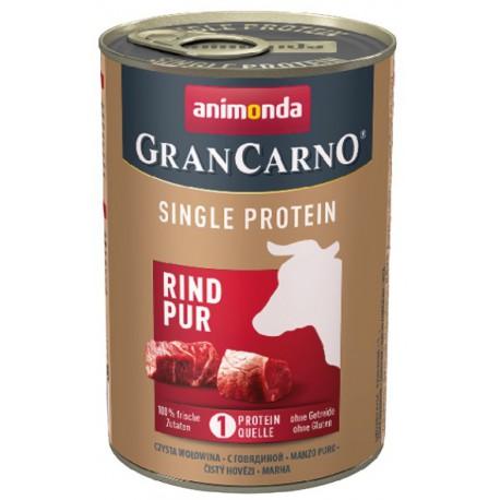 Animonda GranCarno Single Protein Wołowina puszka 400g