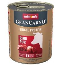 Animonda GranCarno Single Protein Wołowina puszka 800g