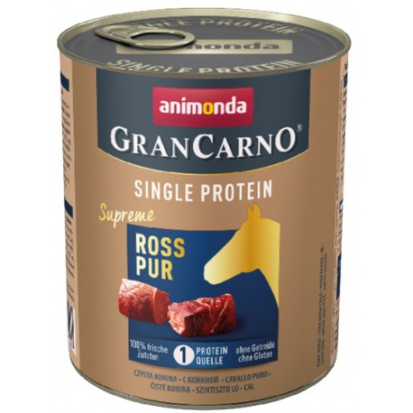 Animonda GranCarno Single Protein Konina puszka 800g