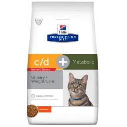 Hill's Prescription Diet Metabolic+Urinary Stress Feline 4kg