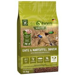 Wildborn Sensitive Ente & Kartoffel Junior 15kg