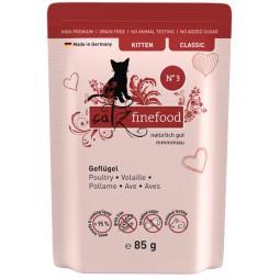 Catz Finefood Kitten N.03 Drób saszetka 85g