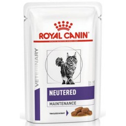 Royal Canin Veterinary Care Nutrition Neutered Adult Maintenance saszetka 85g