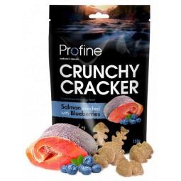 Profine Crunchy Cracker Łosoś z jagodami 150g