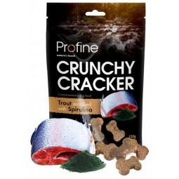 Profine Crunchy Cracker Pstrąg ze spiruliną 150g