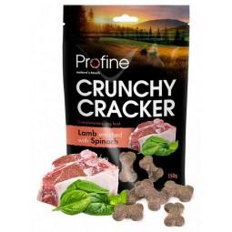 Profine Crunchy Cracker Jagnięcina ze szpinakiem 150g
