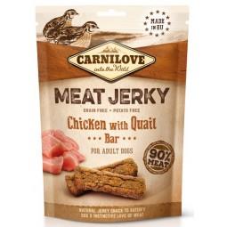 Carnilove Dog Jerky Chicken with Quail Bar - kurczak i przepiórka 100g