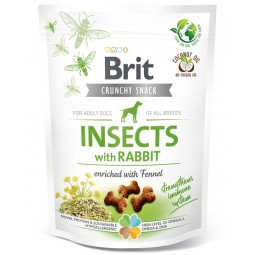 Brit Care Dog Crunchy Cracker Insect & Rabbit 200g