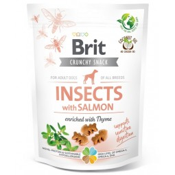 Brit Care Dog Crunchy Cracker Insect & Salmon 200g