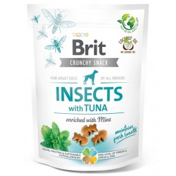 Brit Care Dog Crunchy Cracker Insect & Tuna 200g