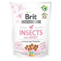 Brit Care Dog Crunchy Cracker Puppy Insect & Whey 200g