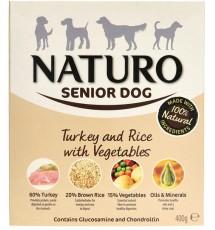 Naturo Senior indyk z ryżem...