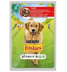 Friskies Dog Adult Wołowina...