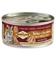 Carnilove Cat Turkey &...
